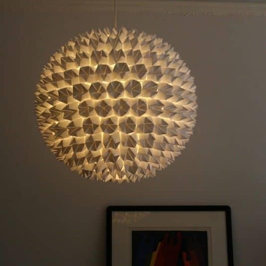 7 ideas para decorar una pantalla de l mpara - Decorar lamparas de techo ...