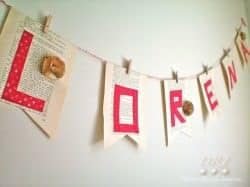 Old Book Garland 4 DRI