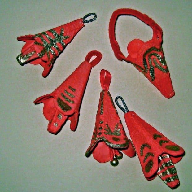 Adornos de navidad con material reciclado - Adornos navidenos con material reciclado para ninos ...
