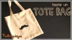 tote bag en color crudo