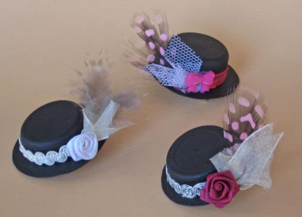 Broches con tapones