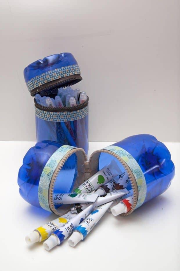 reciclaje de botellas de plstico para hacer envases resultado final