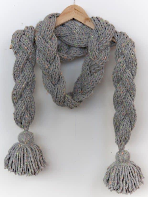 Tejer y tricotar con lana - Como hacer punto de lana para principiantes ...